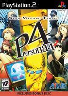 Portada oficial de de Persona 4 para PS2