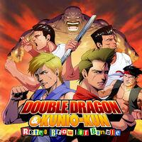 Portada oficial de Double Dragon & Kunio-kun Retro Brawler Bundle para Switch