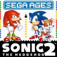 Portada oficial de Sega Ages Sonic the Hedhehog 2 para Switch