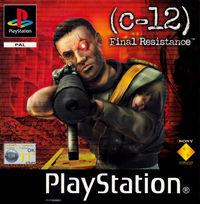 Portada oficial de C-12: Resistencia Final para PS One