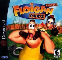 Portada oficial de Floigan Brothers para Dreamcast