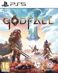 Portada oficial de Godfall para PS5