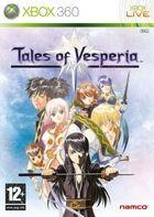 Portada oficial de de Tales of Vesperia para Xbox 360