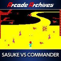 Portada oficial de Arcade Archives Sasuke vs Commander para PS4