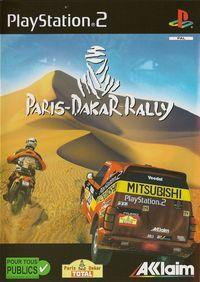 Portada oficial de Paris Dakar Rally para PS2