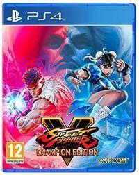 Portada oficial de Street Fighter V: Champion Edition para PS4