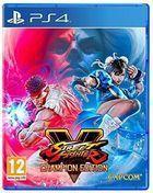 Portada oficial de de Street Fighter V: Champion Edition para PS4
