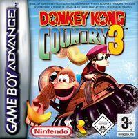 Portada oficial de Donkey Kong Country 3 CV para Wii