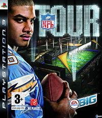 Portada oficial de NFL Tour para PS3
