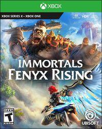Portada oficial de Immortals Fenyx Rising para Xbox Series X/S