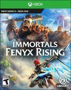 Portada oficial de de Immortals Fenyx Rising para Xbox Series X/S