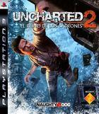 Portada oficial de de Uncharted 2: El Reino de los Ladrones para PS3