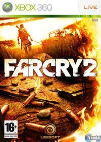 Portada oficial de Far Cry 2 para Xbox 360