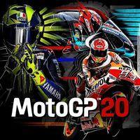 Portada oficial de MotoGP 20 para PS4