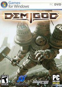 Portada oficial de Demigod para PC