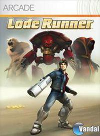 Portada oficial de Lode Runner XBLA para Xbox 360