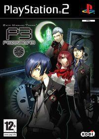 Portada oficial de Persona 3 para PS2