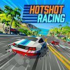 Portada oficial de de Hotshot Racing para PS4