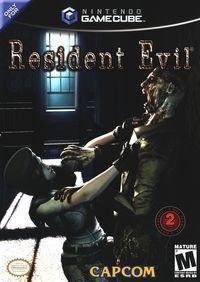 Portada oficial de Resident Evil para GameCube