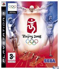 Portada oficial de Beijing 2008 - El Videojuego Oficial de los Juegos Olímpicos para PS3
