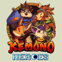 Portada oficial de Kemono Heroes para Switch