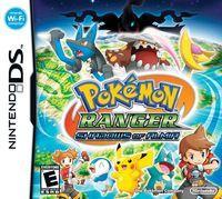 Portada oficial de Pokémon Ranger: Sombras de Almia para NDS