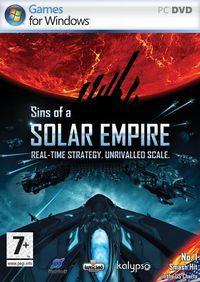 Portada oficial de Sins of a Solar Empire para PC