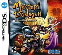 Portada oficial de Mystery Dungeon: Shiren the Wanderer para NDS