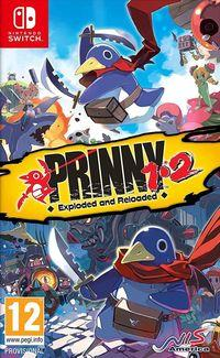 Portada oficial de Prinny 1 2: Exploded and Reloaded para Switch