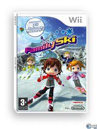 Portada oficial de Family Ski para Wii