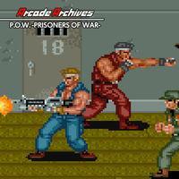 Portada oficial de Arcade Archives P.O.W. -PRISONERS OF WAR- para Switch