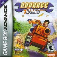 Portada oficial de Advance Wars para Game Boy Advance