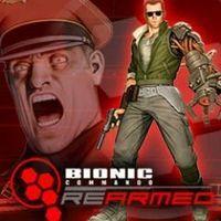 Portada oficial de Bionic Commando Rearmed PSN para PS3