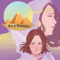 Portada oficial de War & Romance Visual Novel eShop para Nintendo 3DS