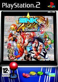 Portada oficial de SNK ARCADE CLASSICS: VOLUME 1 para PS2