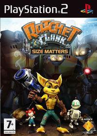 Portada oficial de Ratchet & Clank: El Tamaño Importa para PS2