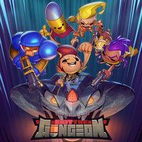 Portada oficial de Exit the Gungeon para Switch