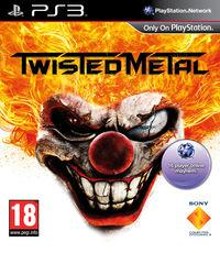Portada oficial de Twisted Metal para PS3