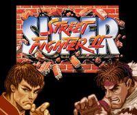 Portada oficial de Super Street Fighter II: The New Challengers CV para Wii