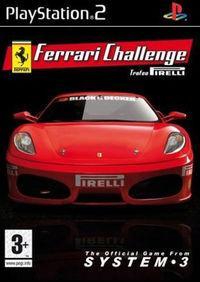 Portada oficial de Ferrari Challenge para PS2