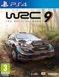 Portada oficial de WRC 9 para PS4