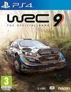 Portada oficial de de WRC 9 para PS4