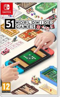 Portada oficial de 51 Worldwide Games para Switch