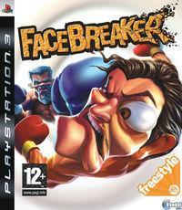 Portada oficial de FaceBreaker para PS3