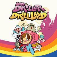 Portada oficial de Mr. Driller DrillLand para Switch