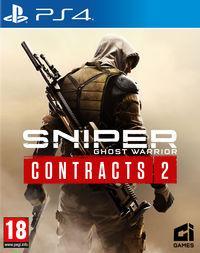Portada oficial de Sniper Ghost Warrior Contracts 2 para PS4