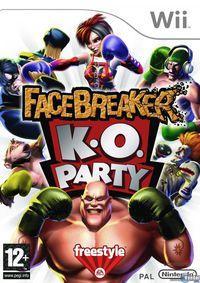 Portada oficial de FaceBreaker K.O. Party para Wii