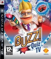 Portada oficial de Buzz! Quiz TV Special Edition para PS3