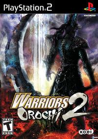 Portada oficial de Warriors Orochi 2  para PS2