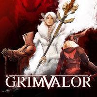 Portada oficial de Grimvalor para Switch